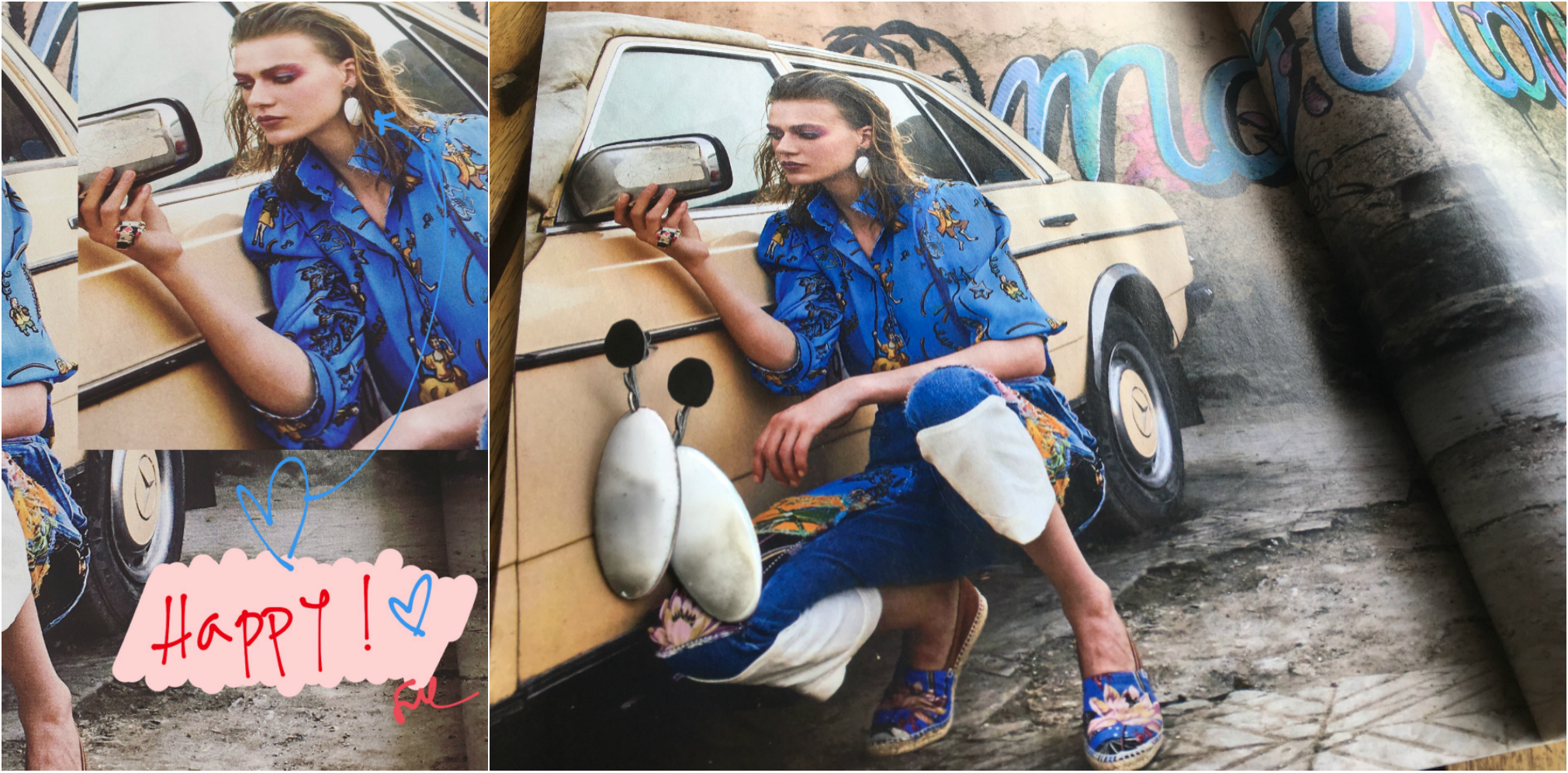 Publicación joyas en revista de moda