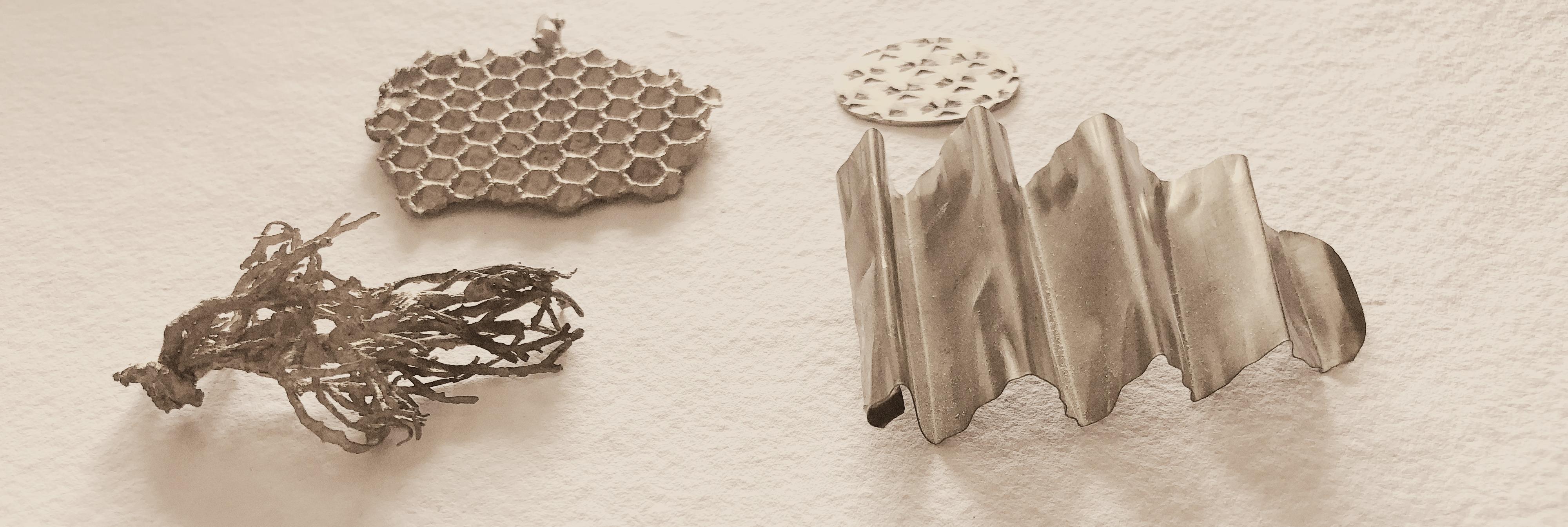 Joyas de plata contemporaneas