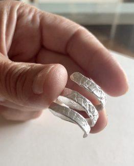 Anillo espiral adaptable a tallas